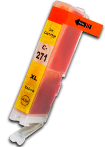 CLI-271XLY Compatible high yield yellow inkjet cartridge for Canon Pixma