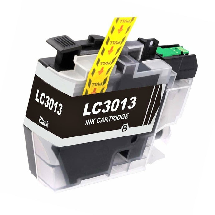 LC3013BK Compatible high yield black inkjet cartridge for Brother