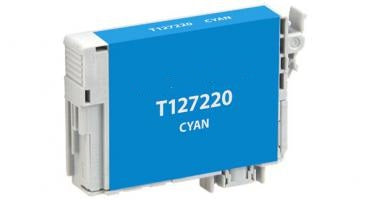 T127200 Remanufactured/Compatible extra high yield cyan inkjet cartridge for Epson Work Force