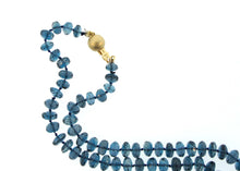 London Blue Topaz Faceted Necklace