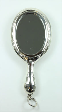 Small Sterling Silver Vanity Mirror