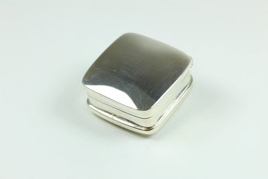 Sterling Silver Square Shaped Trinket Box