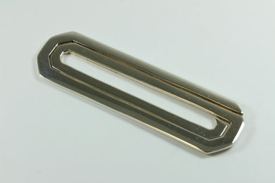 Sterling Silver Modernist  Tie Bar