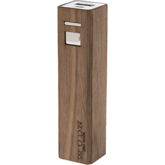 Lip-stick Wood Power Bank