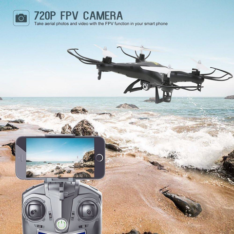 Altitude Hold RC Quadcopter Drone with 720 HD Camera