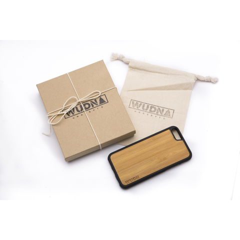 Slim Wooden Bamboo Phone Case | Compass Traveler