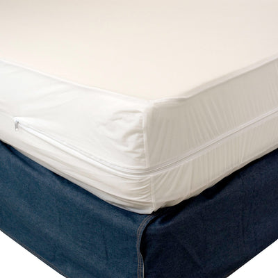 Dry Defender Heavy Duty Vinyl Split Boxspring Cover - King Size (2 Twin XL Vinyls)