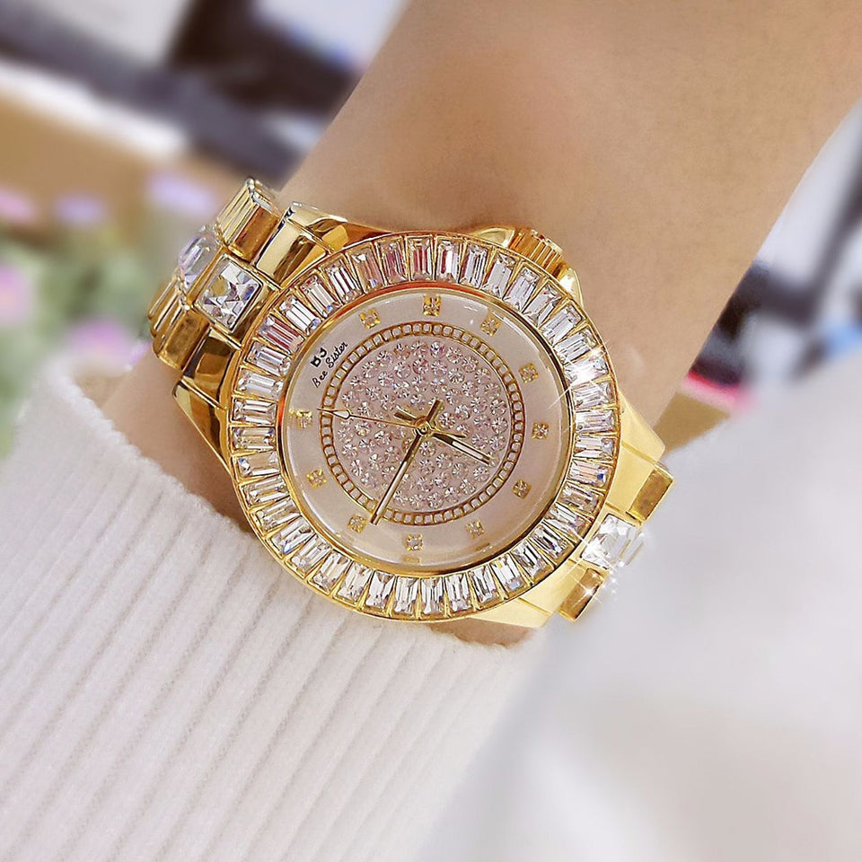 Crystal Luxury Watch