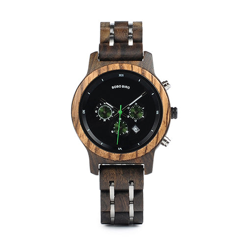 Versatile Wooden Watch