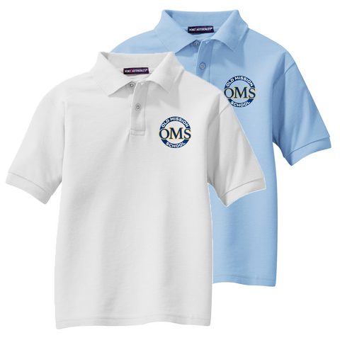 OMS Approved for School - Standard Cotton/Poly Pique Polo Shirt