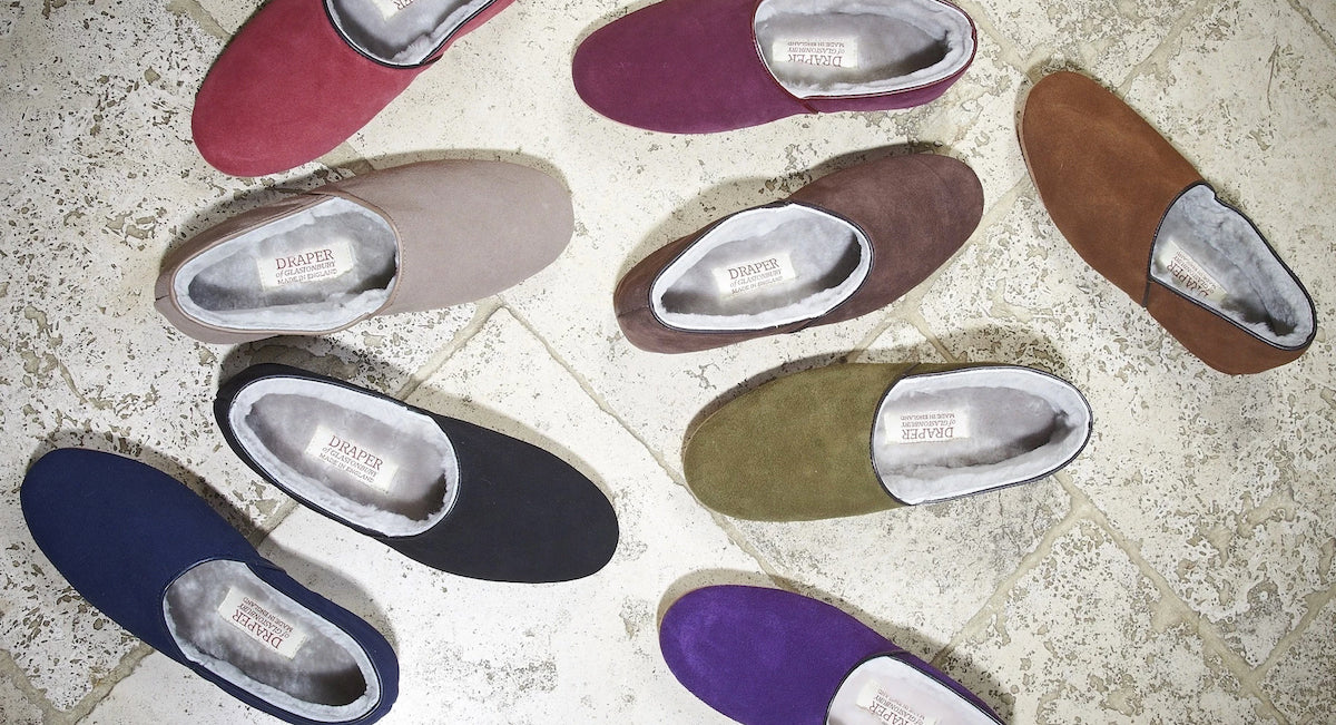 46bf5a664f0 Mens Collection | Sheepskin Slippers and Boots | Draper of Glastonbury