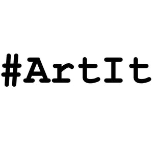 Logo for #ArtIt, the new artistic streetwear brand launching in Oslo 2019
