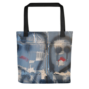 Luanne May Goodness and Gracious all-over tote bag