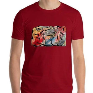 "Emil Ellefsen Hissig (""hot-headed"") short sleeve cotton t-shirt"