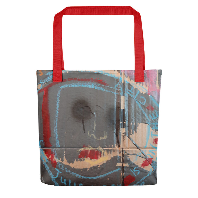 Luanne May Through the looking-glass and what Julian found there all-over tote bag