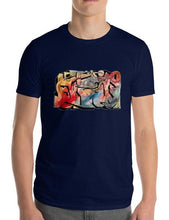 "Load image into Gallery viewer, Emil Ellefsen Hissig (""hot-headed"") short sleeve cotton t-shirt"