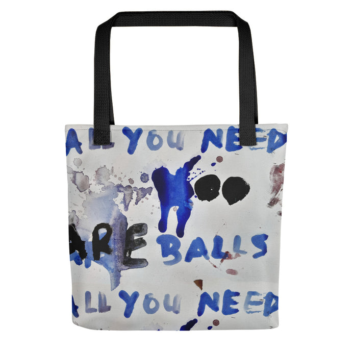 Luanne May All you need are balls all-over tote bag