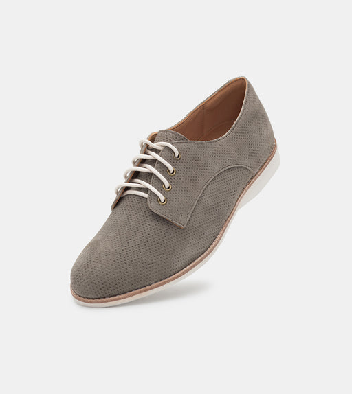 Derby Pin Cross Dark Taupe