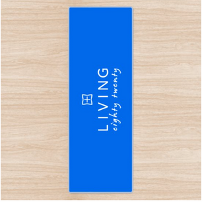 The Living Eighty Twenty Yoga Mat