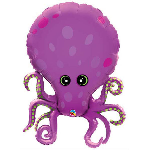 Amazing Octopus Jumbo Foil Balloon - 86cm