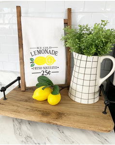 Lemonade Tea Towel