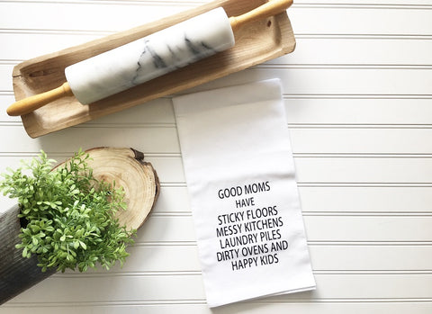 Good Moms Tea Towel