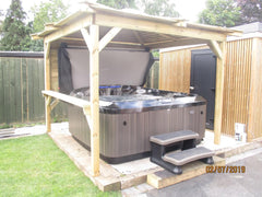 Hot Tub Installation for Fethon