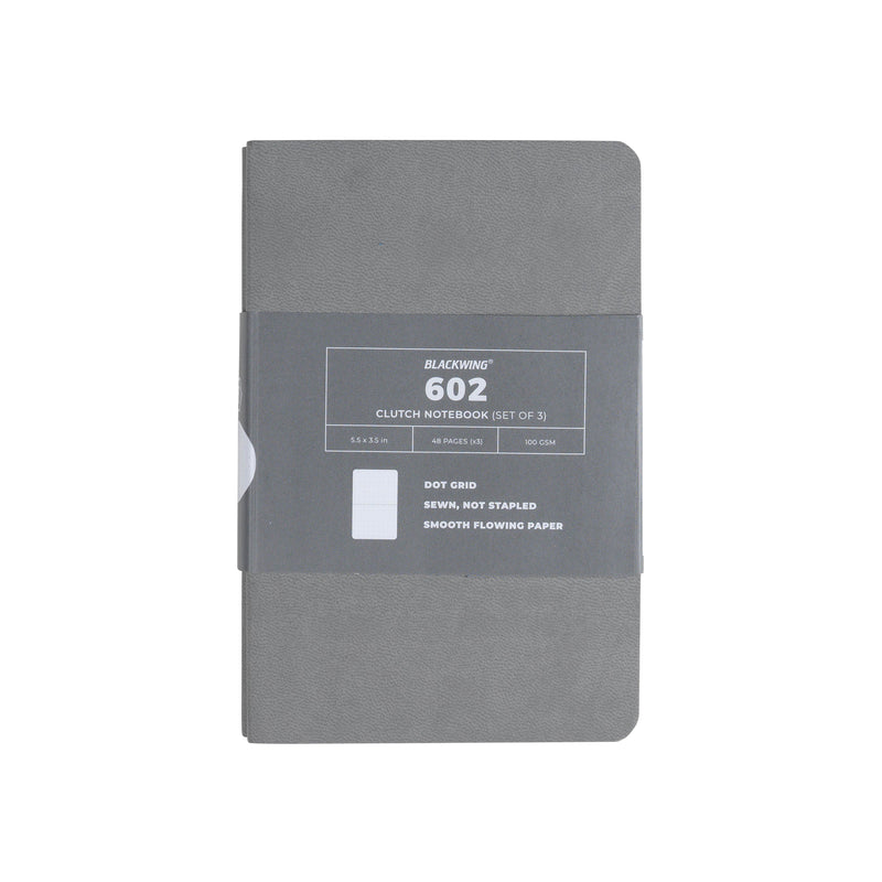 Blackwing 602 Clutch Notebook - Dot Grid Paper