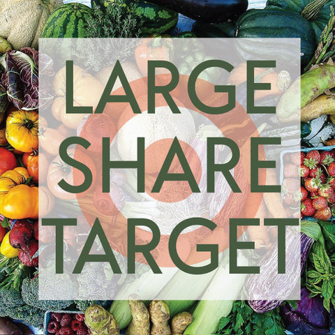 Tangletown Gardens 2019 CSA Large Share for Target Employees