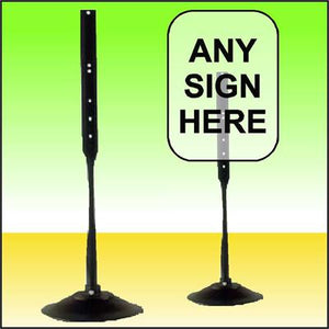 Pedestal Stand for Signs