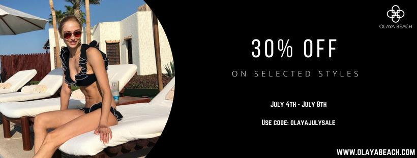 The Olaya Beach 4th July Sale is back!