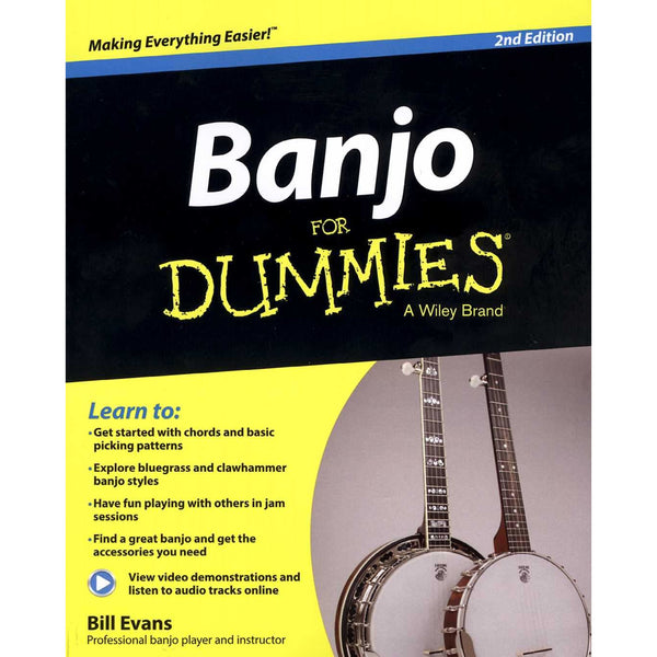 Banjo for Dummies, Second Edition