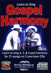 Learn to Sing Gospel Harmony