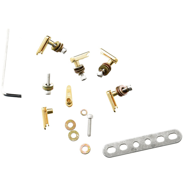 POWER PINS ACOUSTIC GUITAR STRINGING SYSTEM, GOLD