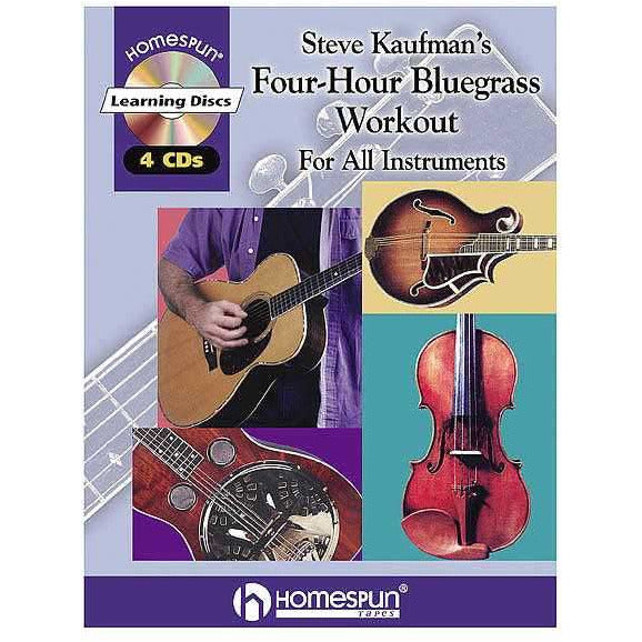 Steve Kaufman Four-Hour Bluegrass Workout CD Package
