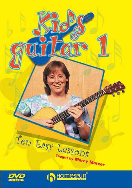 DVD - Kids Guitar: Vol. 1 - 10 Easy Lessons