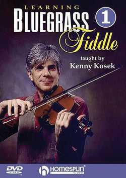 DVD - Learning Bluegrass Fiddle: Vol. 1