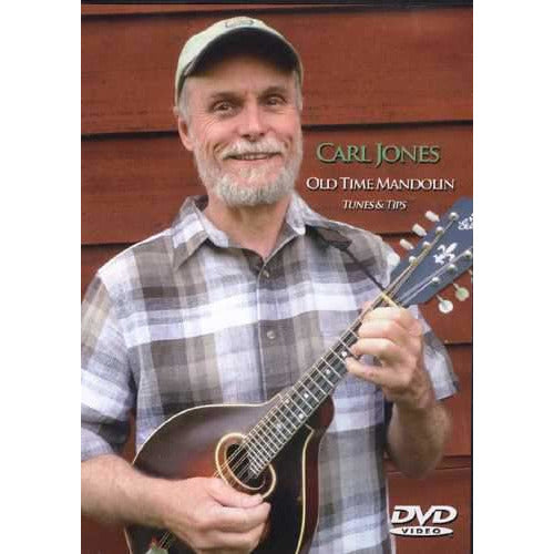 DVD - Carl Jones: Old Time Mandolin Tunes & Tips