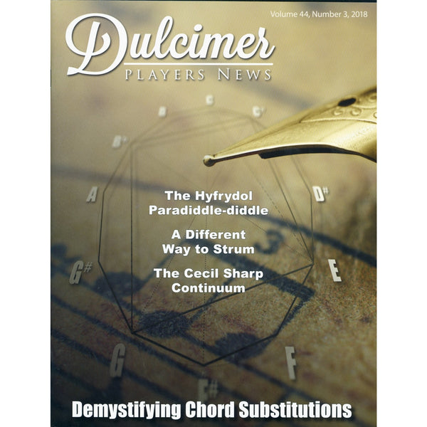 Dulcimer Players News, September 2018 - Vol. 44 No. 3