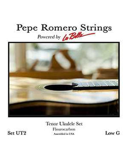 Pepe Romero Strings UT2 Tenor Ukulele Set, Low G