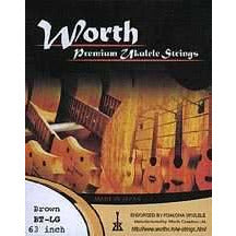 Worth BT-LG Brown Tenor Uke Set with Low G