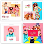 20 - Fashion Instagram Banners - 1 - watercoloraction