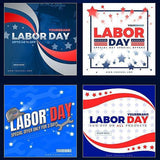 26 - Labor Day Instagram Banners - watercoloraction