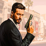 Grand Theft Art Photoshop Action - watercoloraction