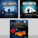 Halloween Instagram Banners - watercoloraction