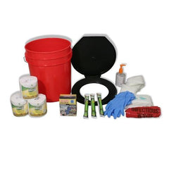 Ready America Lockdown Toilet Bucket Kit - 4-10 Persons