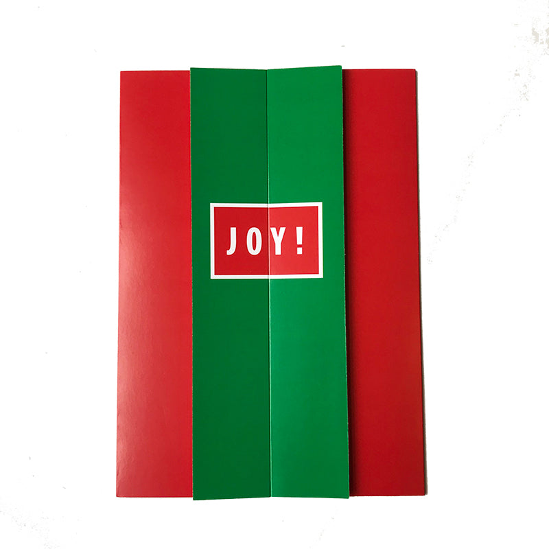 JOY Reveal Card