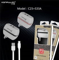KONFULON CHARGER + CABLE MICRO 16.5 MODEL C23+S31A