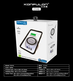KONFULON FAST WIRELESS CHARGER MODEL NO C51Q