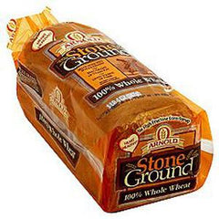 ARNOLD 100% STONEGROUND WHOLE WHEAT BREAD